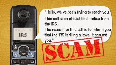 Photo of IRS Lawsuit Phone Scam – It Happened To Us!