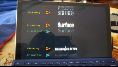 Photo of Surface Pro 4 Flickergate Screen Flicker Issue And Potential Fix